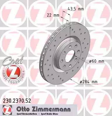 Zimmermann 230.2370.52 - Piduriketas multiparts.ee