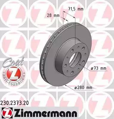 Zimmermann 230.2373.20 - Piduriketas multiparts.ee