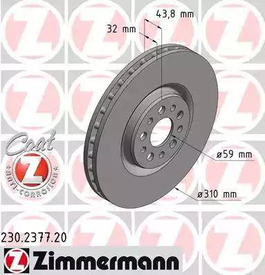 Zimmermann 230.2377.20 - Piduriketas multiparts.ee